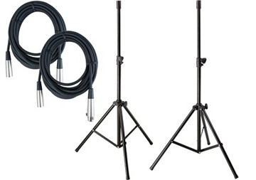 PA system speaker tripods